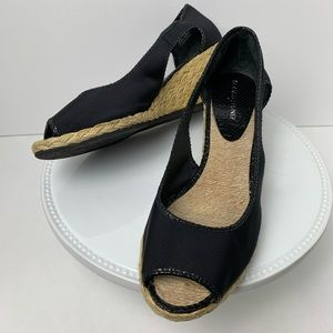 Donald J Pliner Charlot Open-Toe Espadrille Wedge
